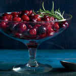 Roasted Cranberries and Grapes with Rosemary