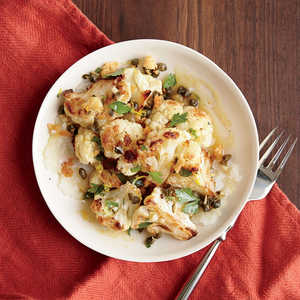 Roasted Cauliflower with Dijon VinaigretteRecipe