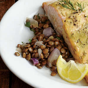 Buttery Lentils with ShallotsRecipe