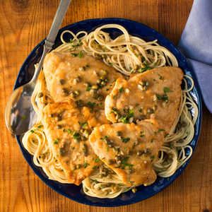 <p>Chicken Piccata with Capers</p>