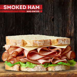 Smoked Ham and Swiss SandwichRecipe