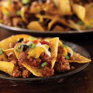 Perfect Day Pork & Black Bean Nachos Recipe