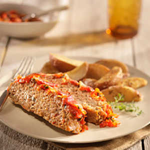 Ground Turkey Meatloaf with Tomato RelishRecipe