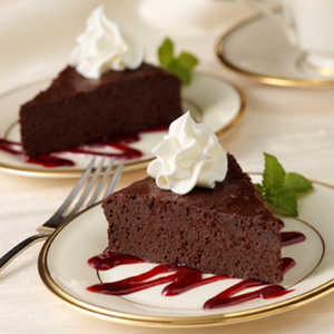 Flourless Chocolate CakeRecipe
