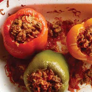 Slow Cooked Stuffed PeppersRecipe