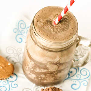 Migraine Busting Healthy Chocolate Peanut Butter ShakeRecipe
