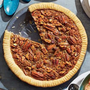 Chocolate-Bourbon Pecan Pie Recipe