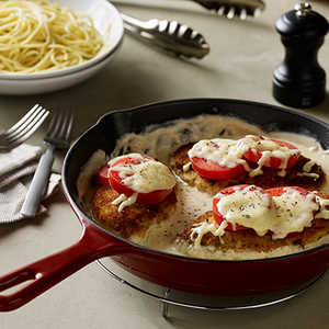 Alfredo with Chicken and TomatoRecipe