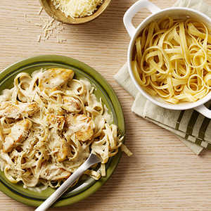 Chicken Alfredo with Fettuccine Recipe
