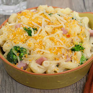 Ham, Broccoli & Swiss CasseroleRecipe