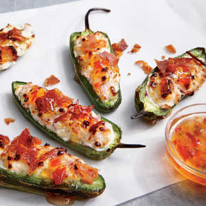 Bacon Goat Cheese Jalapeno Poppers Recipe