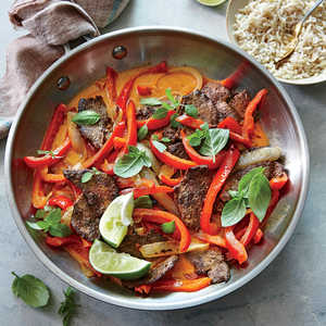 Spicy Thai Red Curry BeefRecipe