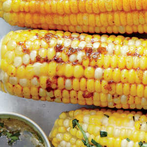 Corn on the Cob with Honey Chipotle Butter Recipe