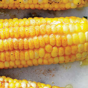 Corn on the Cob with Lemon Curry Spice ButterRecipe