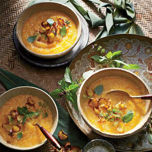 Butternut and Ginger CongeeRecipe