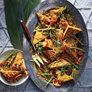 Tofu Curry with Lemongrass and Chile Recipe