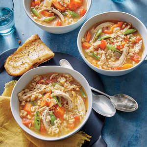 Quick Chicken MinestroneRecipe