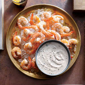 Broiled Shrimp with Buttermilk RémouladeRecipe