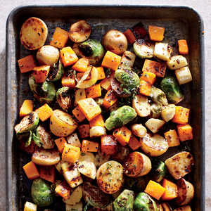Sheet Pan Roasted VegetablesRecipe