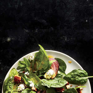 Spinach Salad with Smoked Pecan VinaigretteRecipe