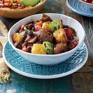 Slow-Cooker Brisket Chili  Recipe