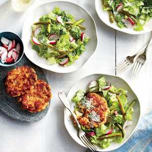 Romaine Salad with Pickled Beans Recipe