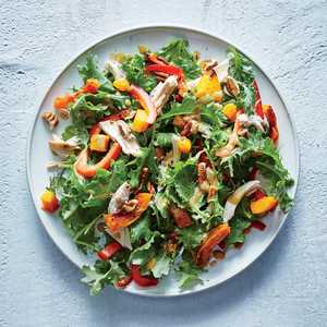 Baby Kale, Butternut, and Chicken Salad Recipe