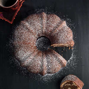 Chocolate-Swirled Pumpkin BundtRecipe