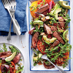 California Steak Salad Recipe