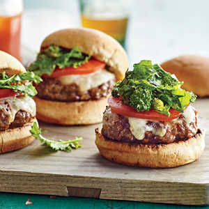 Provolone and Broccoli Rabe Beef Sliders Recipe