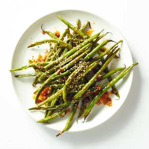 Sweet Heat Green Beans Image Recipe