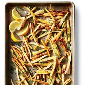 Roasted Parsnips with Lemon and HerbsRecipe