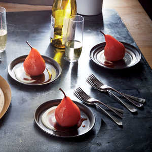Hibiscus Poached PearsRecipe