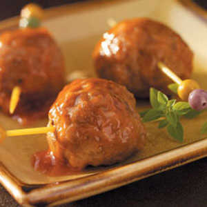 Appetizer Meatballs (Pork Sausage and Ground Beef)Recipe