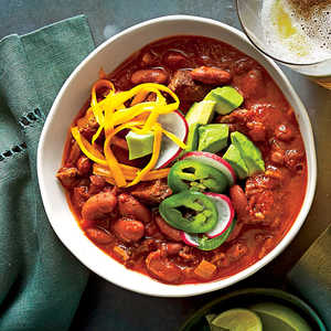 Beef-and-Bean ChiliRecipe