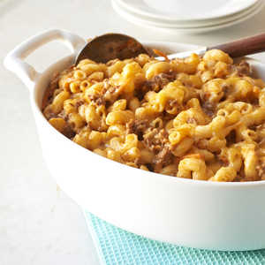 <p>Beef, Cheese, and Noodle Bake</p>