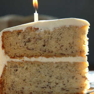 Best Ever Banana Cake with Cream Cheese FrostingRecipe