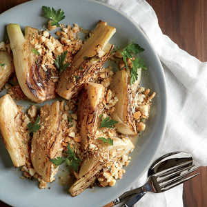 Braised Fennel with Parmesan BreadcrumbsRecipe