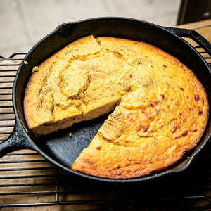 Buttermilk Spoonbread with Spaghetti Squash Recipe