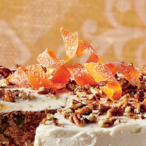 Candied Carrot CurlsRecipe