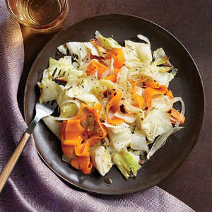 Caribbean-Style Roast Cabbage with CarrotsRecipe