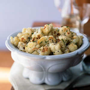 Roasted Cauliflower with Fresh Herbs and ParmesanRecipe