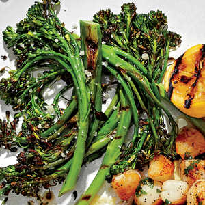 Charred Broccolini with LemonRecipe
