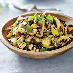 Charred Squash Salad Recipe
