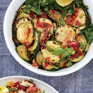 Charred Zucchini Salad Recipe