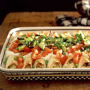 <p>Chicken Enchiladas</p>