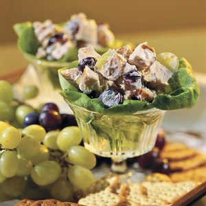 Chicken Salad With Grapes and PecansRecipe