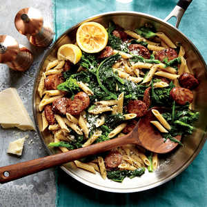 Chicken Sausage and Broccoli Rabe PenneRecipe