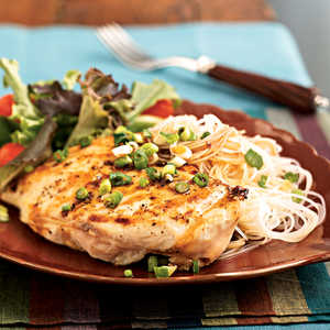 <p>Chicken with Sherry-Soy Sauce</p>
