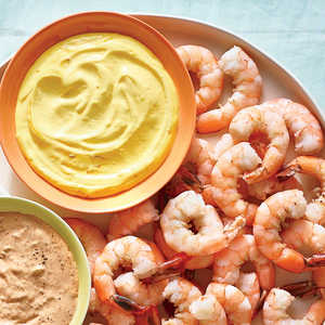 Chilled Shrimp with Saffron AïoliRecipe